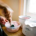 preparation creme glacee