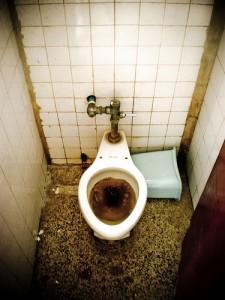 toilette tres debouche