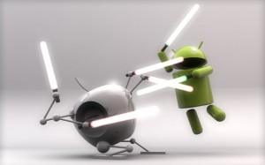 Bataille Android VS iOS